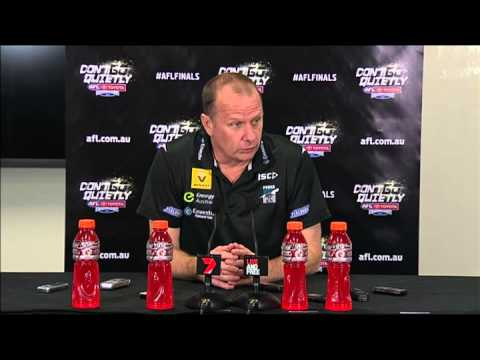Ken Hinkley post-game - EF v Richmond, 2014