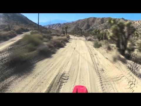 Mojave Desert Little Morongo Canyon Ride P1