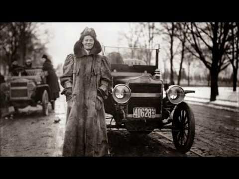 женщины и авто  роман длиною в 150 лет