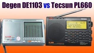 Degen DE1103 vs Tecsun PL660