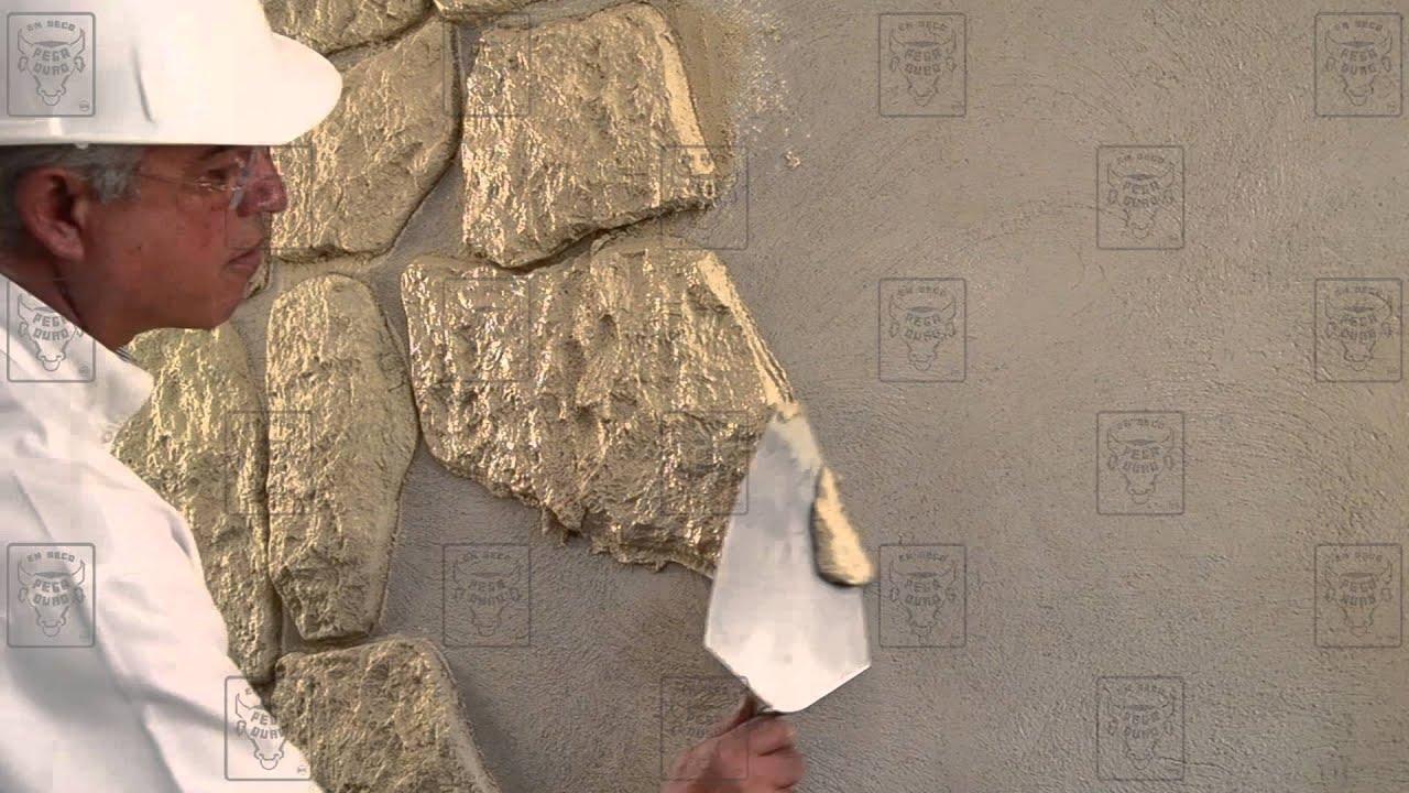 PEGADURO -- Piedra en Polvo (Moldeada) -- Tips Para su Aplicacion ...