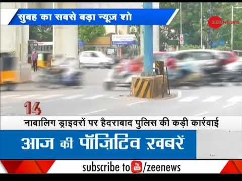Hyderabad Police cracks down on minor drivers