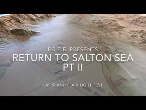 Flat Earth Salton Sea laser test July 12, 2018 MIRROR ✅