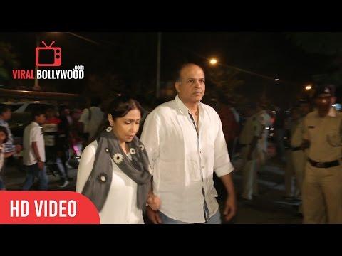 Ashutosh Gowariker with wife attend Aishwarya Rai Bachchan's father Krishnaraj Rai's funeral