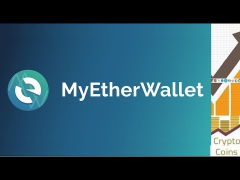 MyEtherWallet (MEW) guide for beginners: wallet used to store Ethereum and ERC-20 Ethereum tokens
