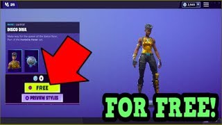 COMMENT OBTENIR LA PEAU DISCO DIVA GRATUITEMENT! (Fortnite Old Skins)