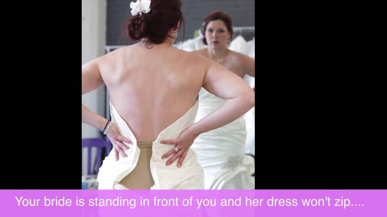 Tina's Corset Kit - Zipper to Tie Up Dress