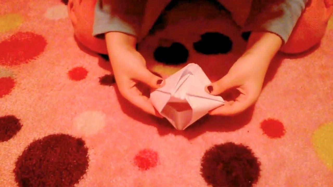 origami comment fabriquer un bateau en papier youtube. Black Bedroom Furniture Sets. Home Design Ideas