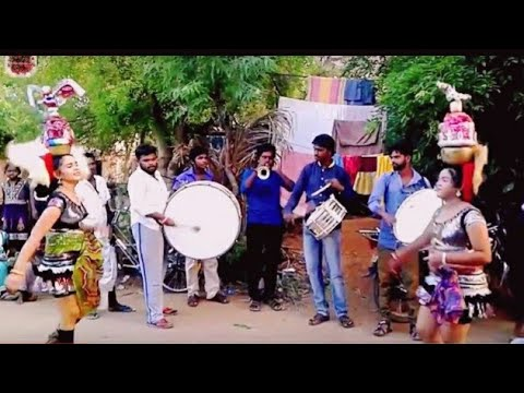 Mariyamma Mariyamma song of the Band music கரகாட்டம் Video Tamil Nadu Sep 2017 HD 1080p