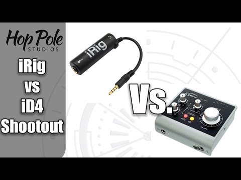 iRig vs Audient iD4 - iPad recording, which is better?