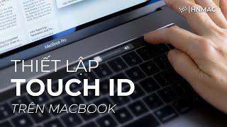 Cách sử dụng Touch ID trên máy Mac.