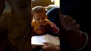 Reyansh's focused on his study....