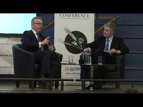 ORFC 2018 Full plenary Q&A session with Environment Secretary Michael Gove MP