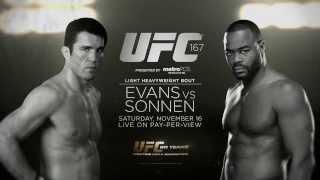 UFC 167: Rashad Evans vs Chael Sonnen