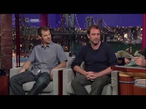 Matt Stone and Trey Parker on Late Show