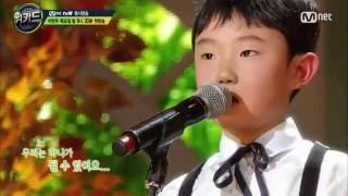 """Cậu bé 9 tuổi hát """"Colour of the wind"""" bằng tiếng Hàn quá hay!"""