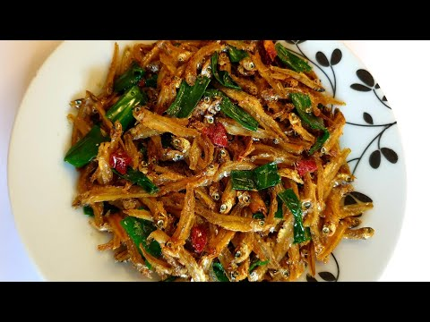 Dry anchovies recipe / How to cook matemba / Kapenta recipe