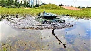 RC 탱크 1/16 Heng Long 3889-1 Leopard 2A6 RainDay Ride