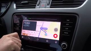 Android Auto - Waze - Google Maps