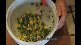 How To Make Mango & Avocado Salsa