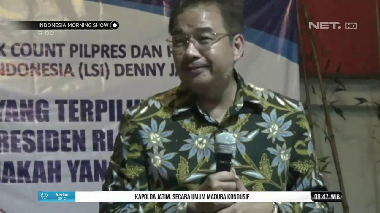 jokowi ma'ruf unggul dari hasil quick count lembaga survey