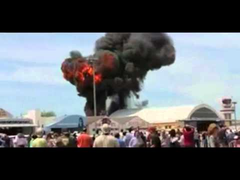 A Great Survival By A Pilot In  Vintage Jet Fighter Crash - Youtube