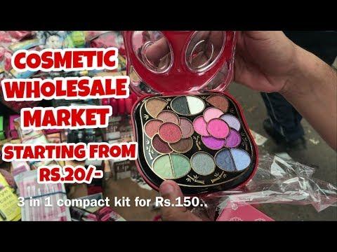 COSMETICS WHOLESALE MARKET AT VERY CHEAP PRICE ,MAKE UP KIT & COSMETIC PRODUCTS , SADAR BAZAR, DELHI