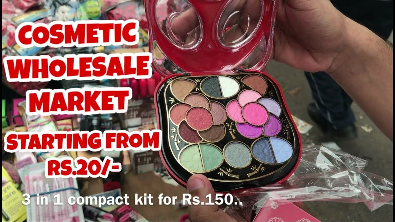 COSMETICS WHOLESALE MARKET AT VERY CHEAP PRICE ,MAKE UP KIT & COSMETIC  PRODUCTS , SADAR BAZAR, DELHI