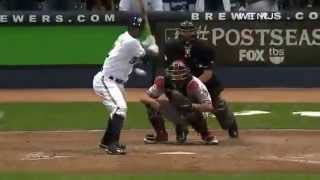 Brewers win NLDS 2011- Bob Uecker Call