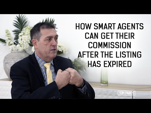 How smart agents can get their commission, even after the listing has expired Mp3