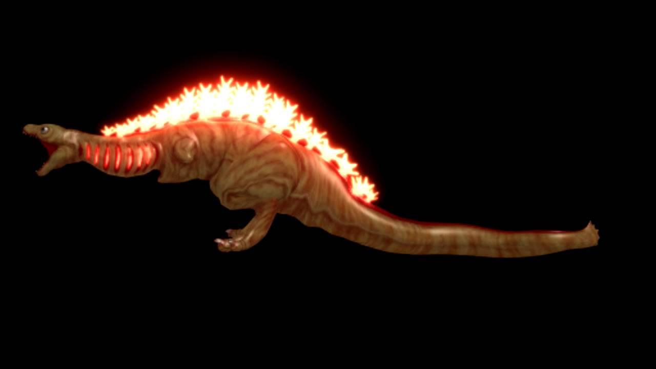 MMD GODZILLA] Shin Godzilla's 2nd Form Animation Test - YouTube
