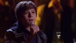 Daniel canta 'Tu Imaginación' de Luis Miguel  | La Voz Kids 2016