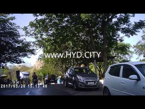 Ramanaidu Studios Drive Video with Live Film shooting