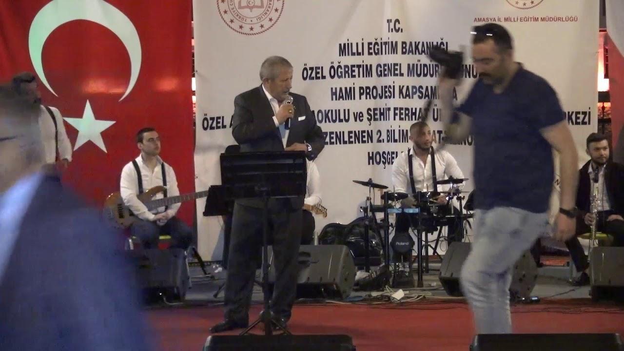 2.Geleneksel O Ses Amasya Ses yarışmasında bizleri yalnız bırakmayan Belediye Başkanımız Sayın Mehmet Sarının Konuşması.