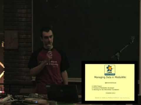 FOSDEM 2012: Semantic MediaWiki