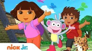 Dora l'Esploratrice | Video della sigla ufficiale | Nick Jr.