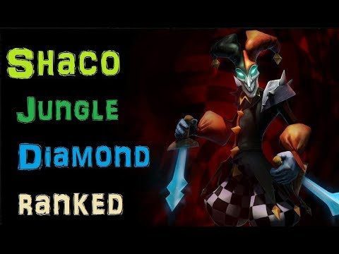 Shaco Jungle Diamond Ranked - Playing with Flex Challengers [League of Legends] - Infernal Shaco
