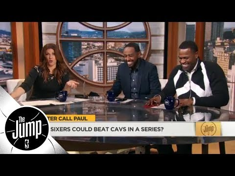 Stephen Jackson laughs at Paul Pierce saying 76ers could beat Cavs in series  The Jump  ESPN