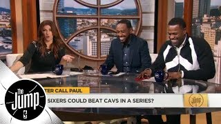 Stephen Jackson laughs at Paul Pierce saying 76ers could beat Cavs in series | The Jump | ESPN