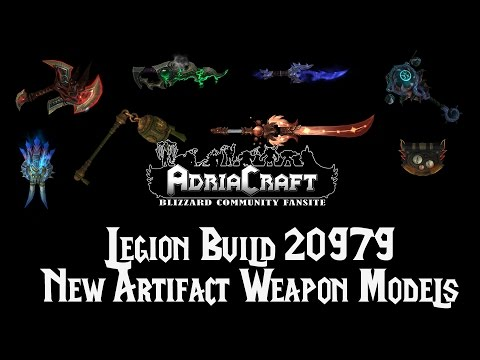Legion Build 20979 - New Artifact Weapon Models