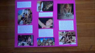 How To Make A Vision Board Board-layout Of Magazine Clippings