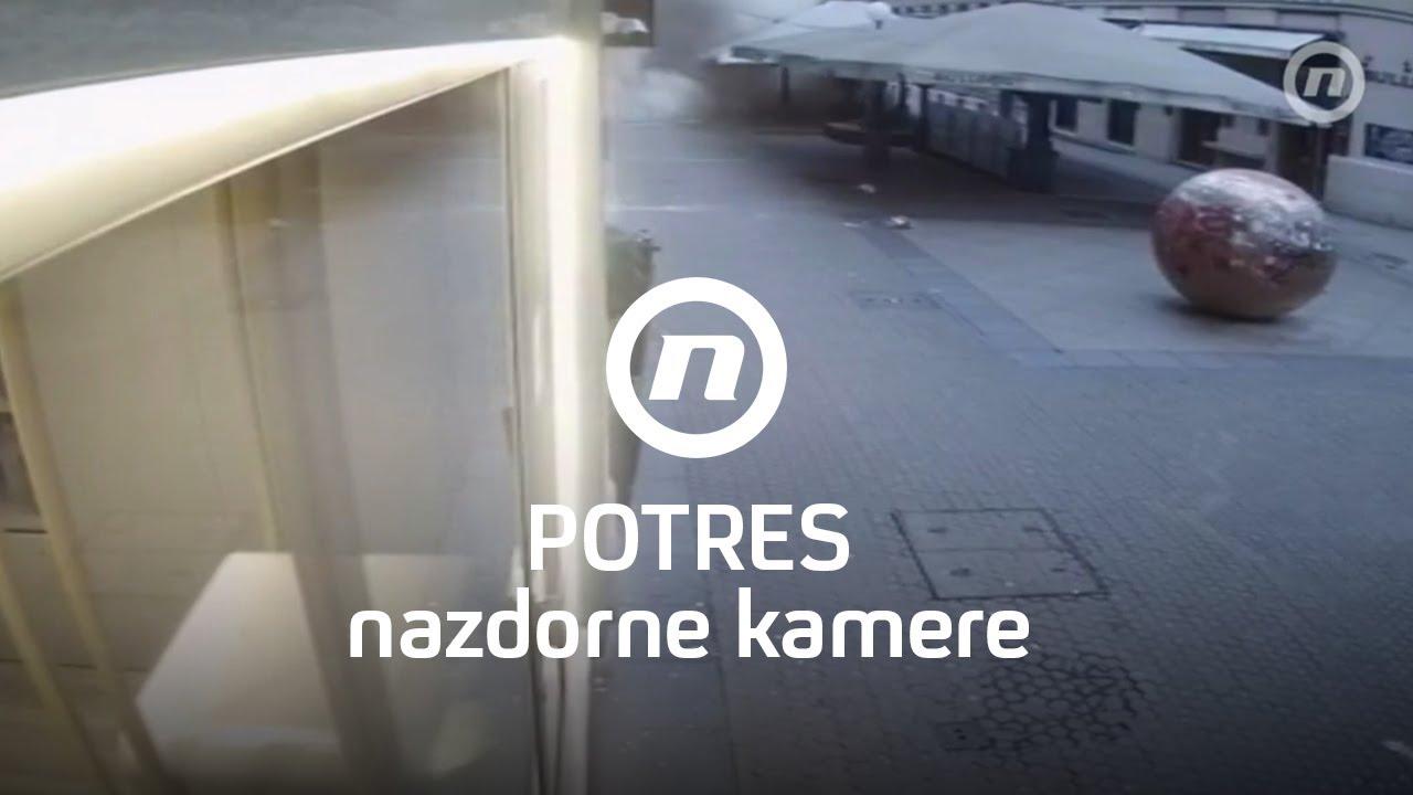 Potres U Zagrebu Nadzorne Kamere I Dnevnik Nove Tv Youtube