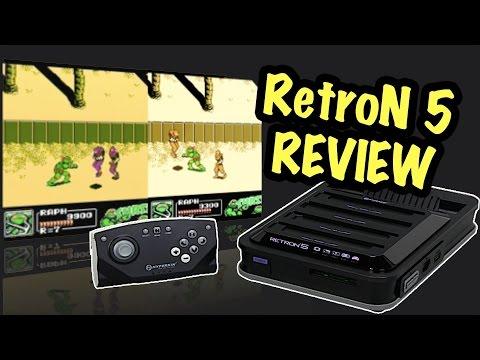 RetroN 5 Review - Does it suck? - Retro Games in HD! - Nintendo Mini Alternative