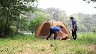 캠프타운 INSTA 텐트 콩코드200 해체 동영상