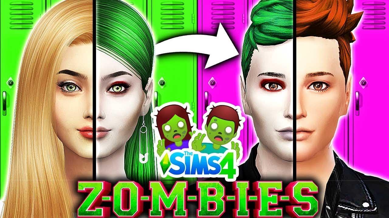 Disney Zombies Characters Opposite Challenge Zombies Vs