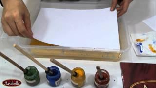 Artebella Kolay Ebru Boyaları ile Tek Renk Battal Tek Renk Tonlama