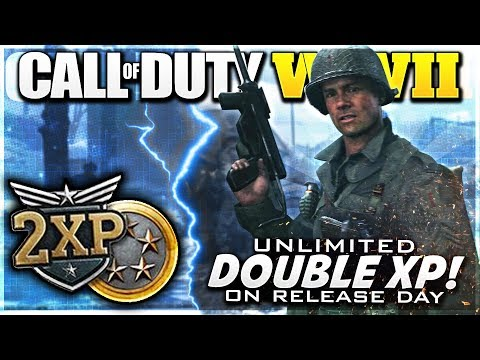 UNLIMITED Double XP In Call Of Duty WW2 (UK & USA Method!)
