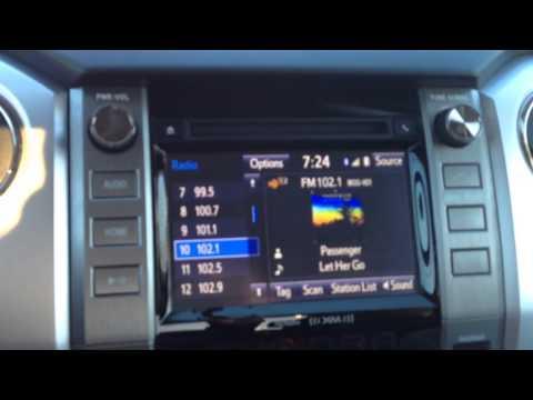 2017 Toyota Tundra Radio Problem Ii