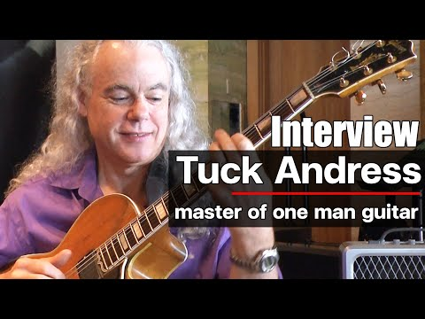 Interview Tuck Andress by www.Guitarthai.com