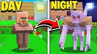 How to SPAWN WEREWOLF VILLAGERS in Minecraft! (Pocket Edition, Xbox, PC)